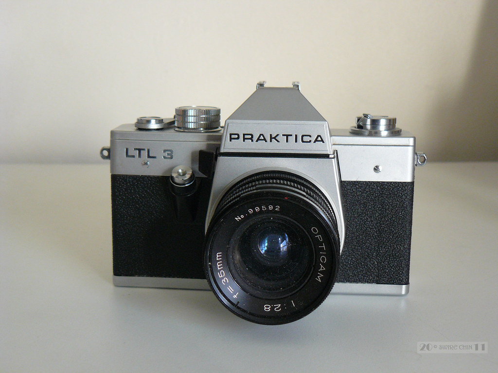 Praktica ltl 3 from my late dads old camera collection. iu2026 flickr