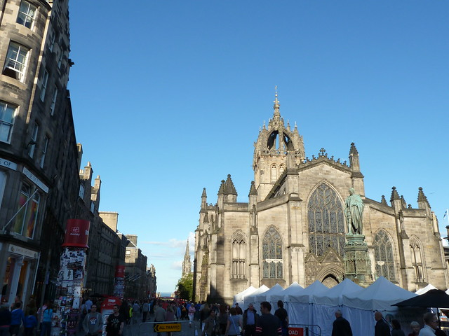 Evening on the Royal Mile