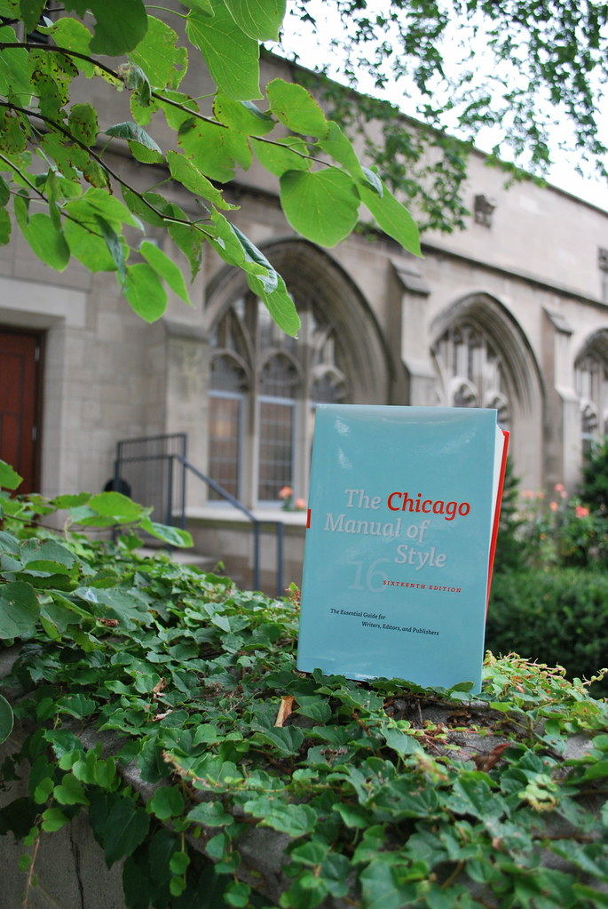 chicago manual of style free