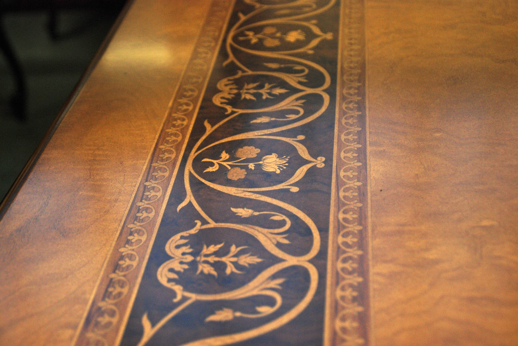 Inlaid wood marquetry dining table top Guerra Vanni  : 6100754190e5e159716bb from www.flickr.com size 1024 x 685 jpeg 431kB