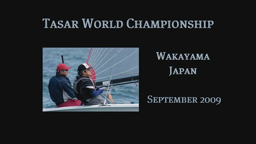 The Tasar World Championship ~ September 2009 ~ a slide show with music