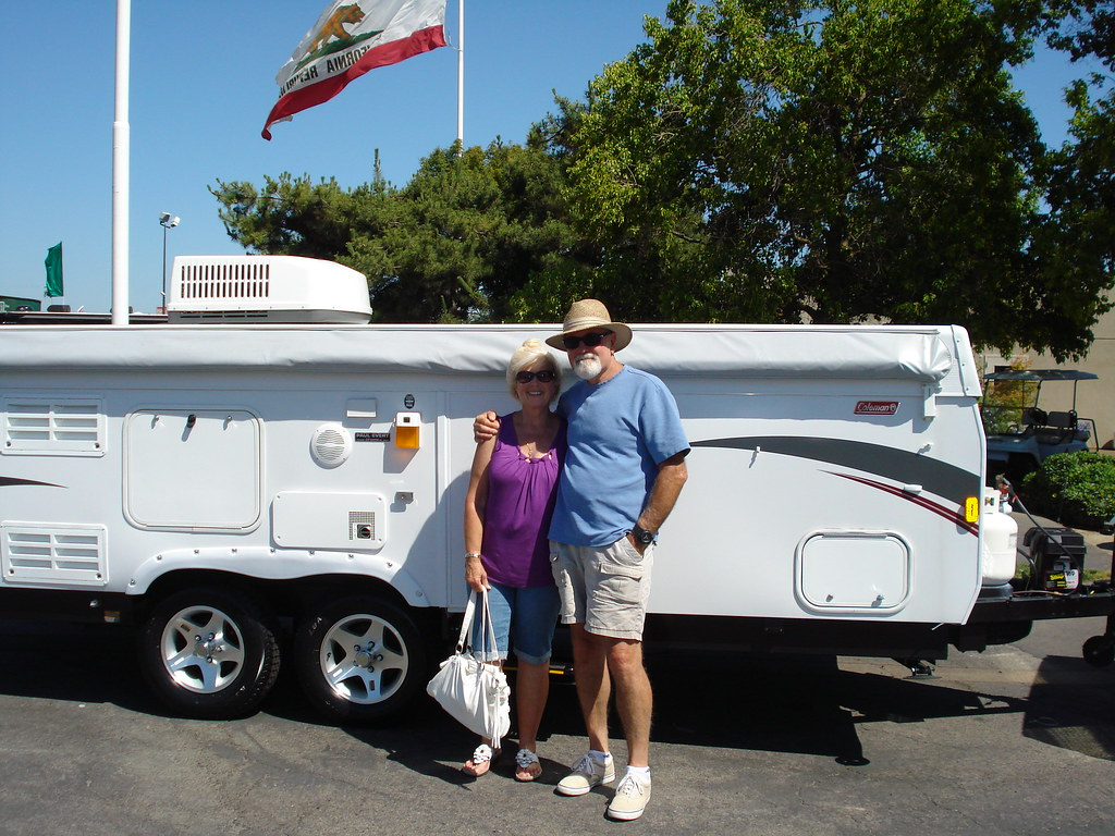 by rvcountry Congratulations Larry u0026 Shari Aube on your new Coleman Avalon Tent Trailer! | by rvcountry & Congratulations Larry u0026 Shari Aube on your new Coleman Avau2026 | Flickr