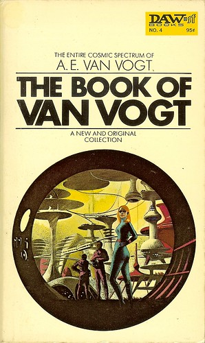 Book of A.E. Van Vogt - cover artist Karel Thole