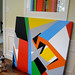 Bryce Hudson - Geometric Abstract Painting - Untitled (p)- 2011 (#1)