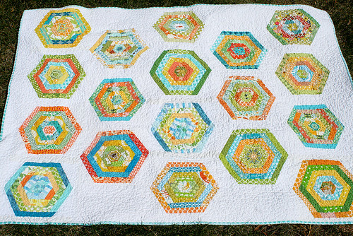 Do. Good Stitches hexy quilt | by freshlypieced