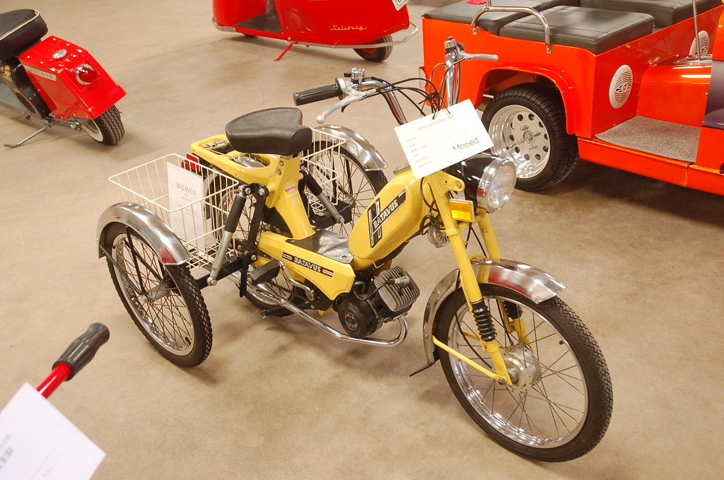 Batavus Moped Manual Batavus Moped Trike by