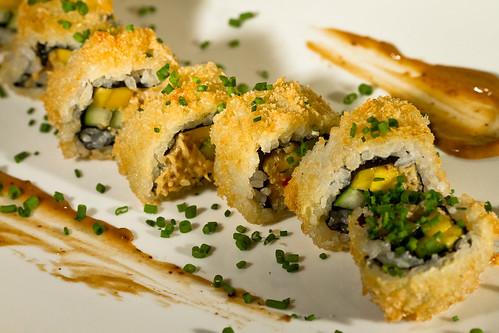 Lobster & Snow Crab Roll - Wasabi, Black Bean & Sesame Aoi ...