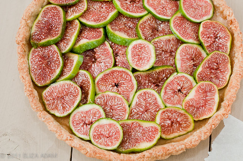 Fresh Calimyrna Figs-Almond Tart | by 3liz4