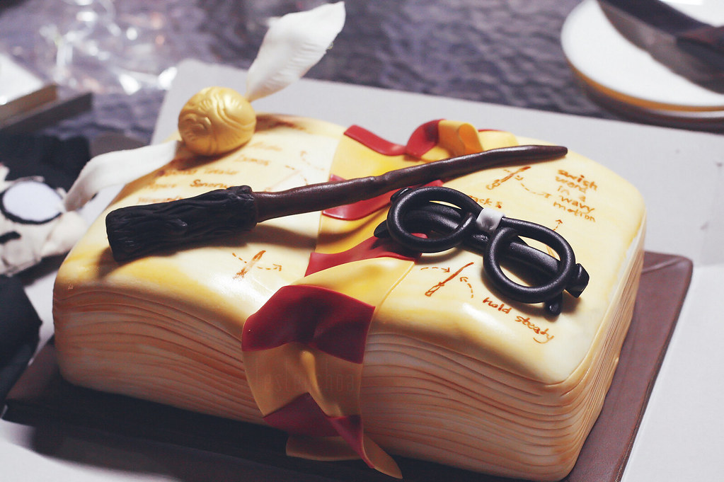 Harry Potter Cake Topper Next Day Delivery