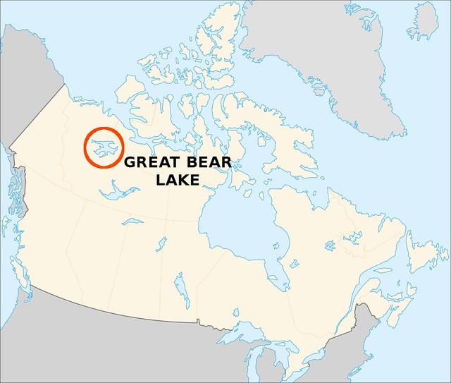 Где находиться озеро медвежье