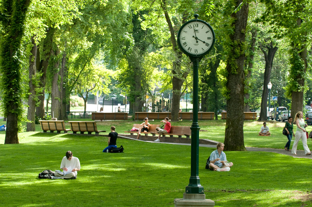 Our Beautiful Park Blocks Portland S Park Blocks Are The