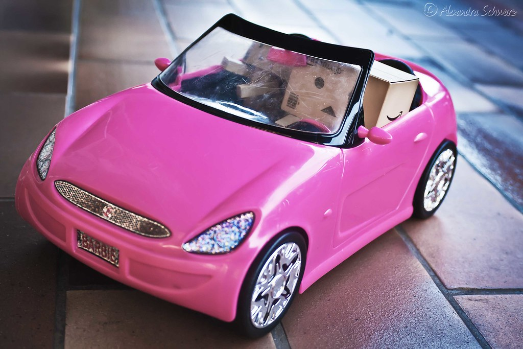 das cabrio the barbie car 41365 die beiden. Black Bedroom Furniture Sets. Home Design Ideas