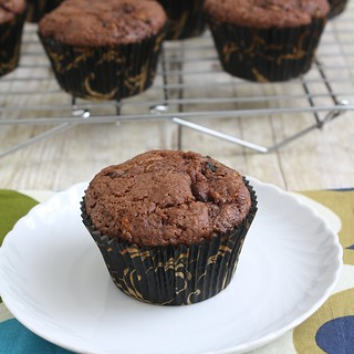 Chocolate Chip Zucchini Muffins | by Tracey's Culinary Adventures