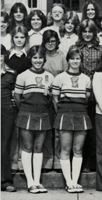 Ohio cheerleader uniform adult