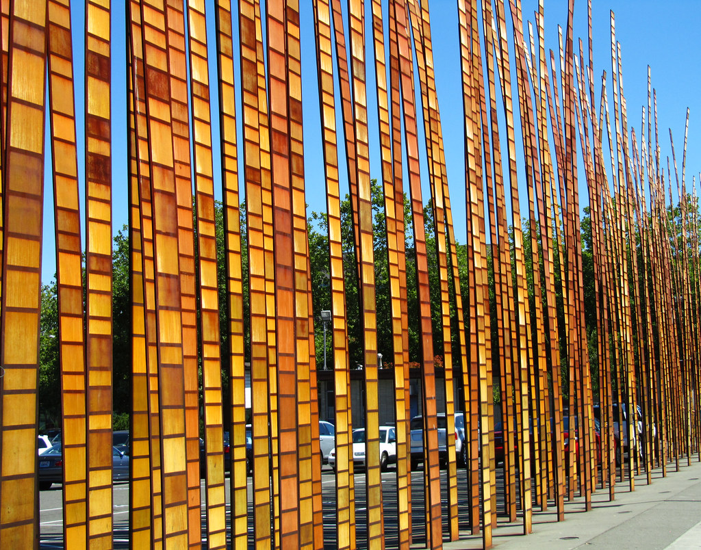 Seattle Center - Grass Blades 3 | The Seattle Center is a ...