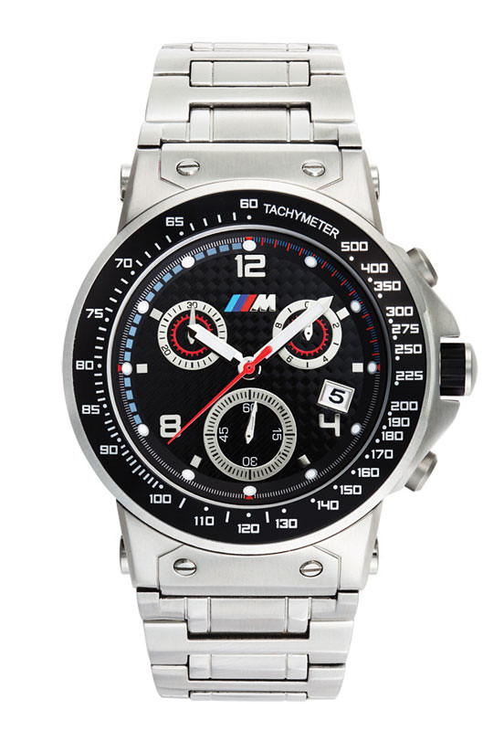 bmw m power chronograph stainless steel band item 80 2. Black Bedroom Furniture Sets. Home Design Ideas