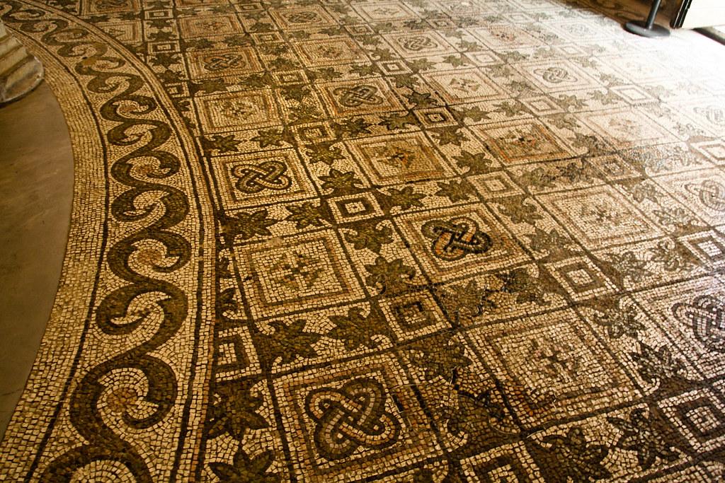 Mosaic Floor, Basilica of San Vitale, Ravenna | Sharon ...