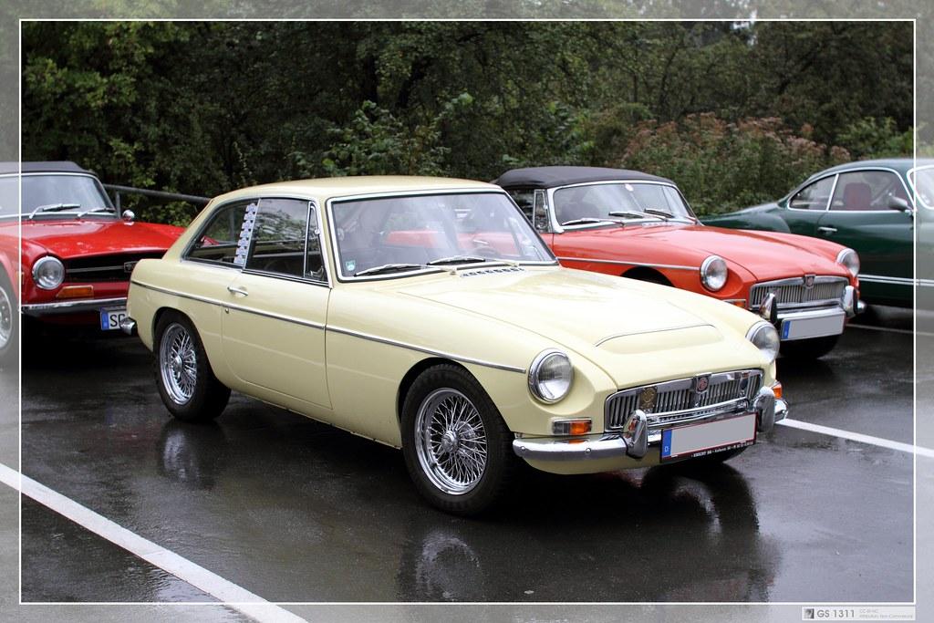1967 Mg Mgc Gt 05 The Mgc Was A 2912 Cc Straight 6