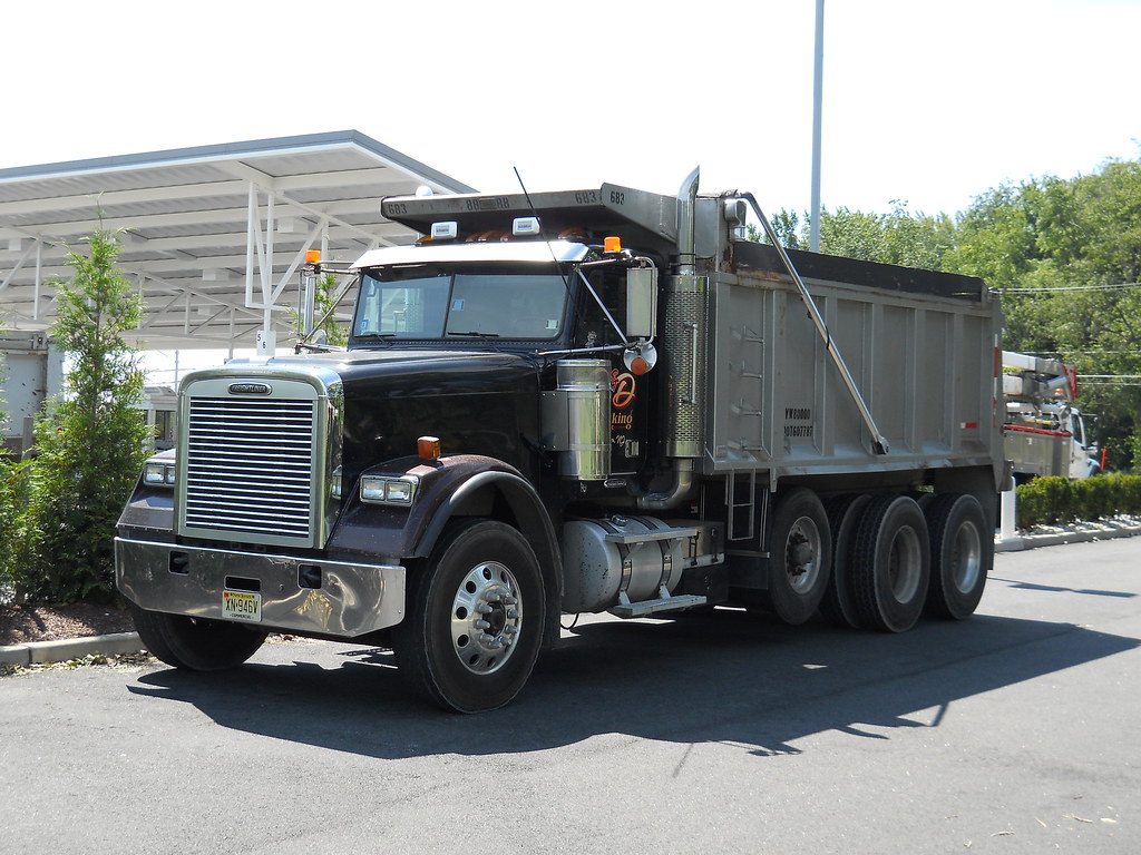 Tri Axle Garbage Truck : Freightliner fld tri axle dump truck d trucking inc