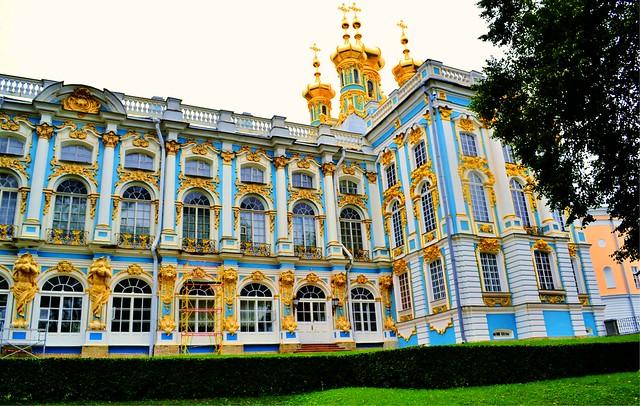 Catherine Palace,Tsarskoye Selo (Pushkin), Saint Petersbur ...