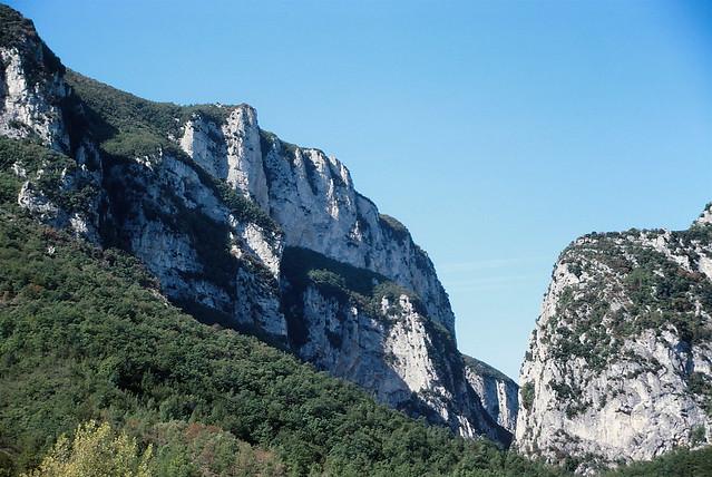 Frasassi Gorge - near Terme San Vittore, Le Marche