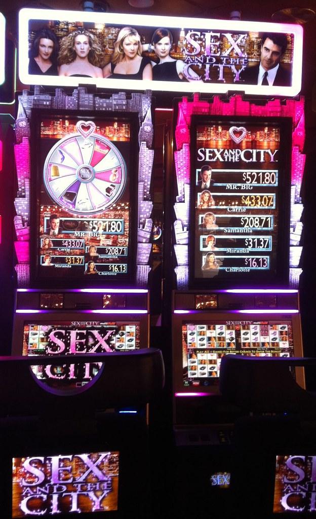 New sex and the city slot machine ventors gamble drop