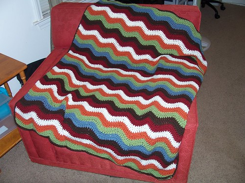 Joshua's Ripple Blanket | by heatherxdawn