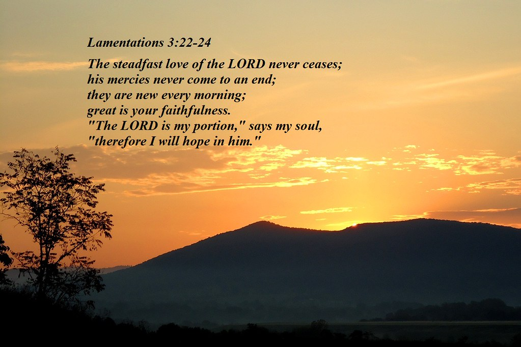 Image result for lamentations 3:24 images