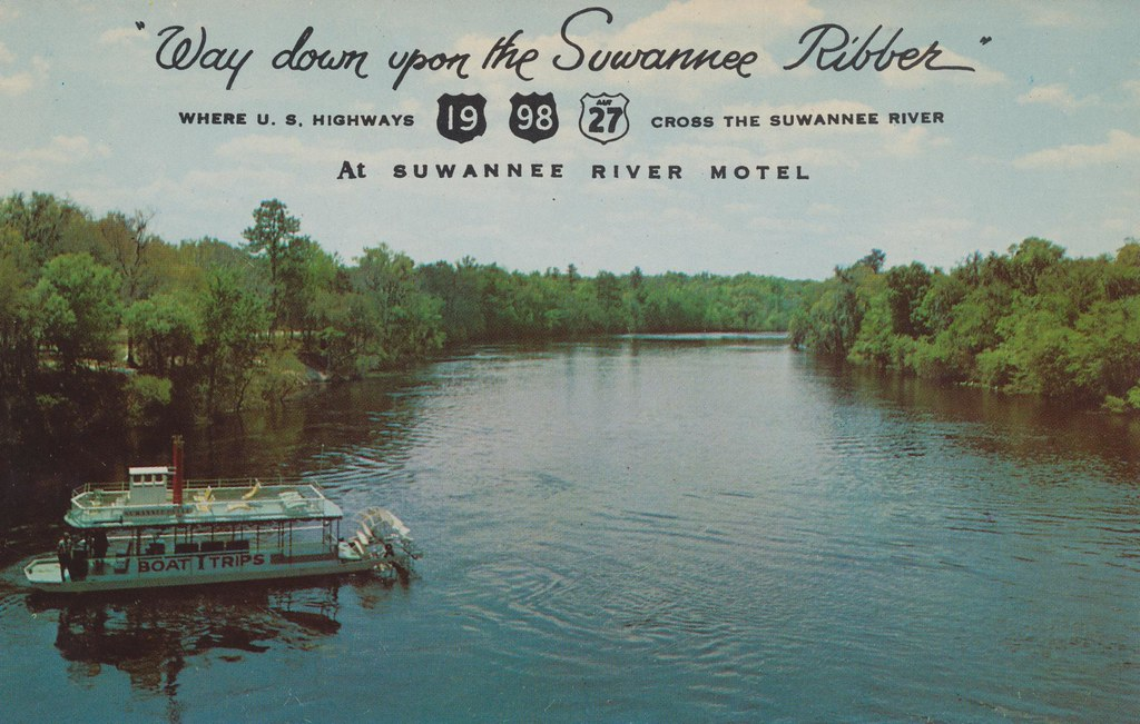 Suwanee River Motel - Old Town, Florida
