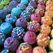 Neon Rainbow cupcakes