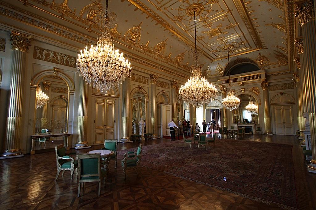 Palais royal de bruxelles salle empire olivier monbaillu flickr - Salon de the palais royal ...