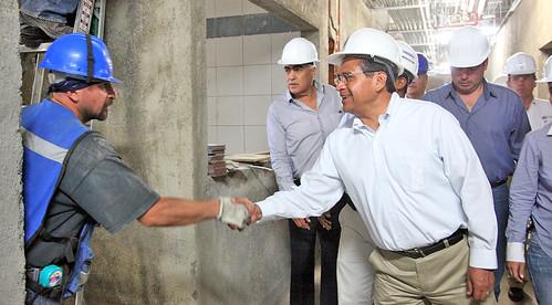 Supervisamos la construcci n del hospital materno infantil - Hospital materno infantil la paz ...