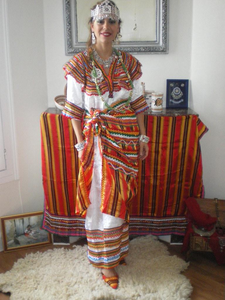 robe traditionnelle kabyle negafa paris flickr With robe kabyle traditionnelle