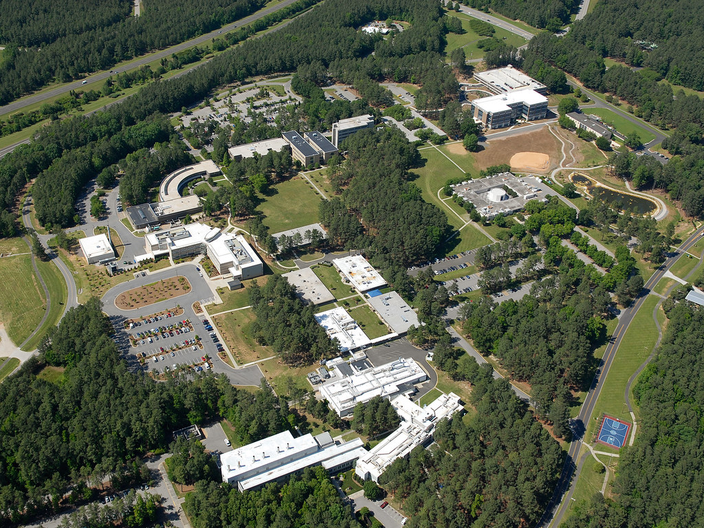 Aerial View Of The Research Triangle Park Campus