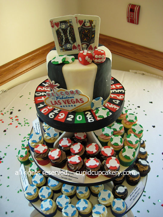 Las Vegas Cake Cupcakes By Cupid Cupcakery I Made This V