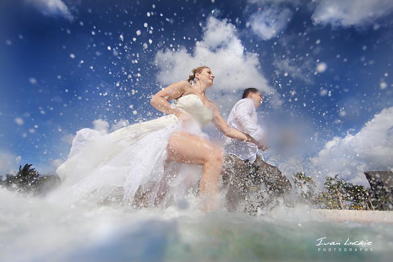 Trash The Wedding Dress Luckiephotography Flickr