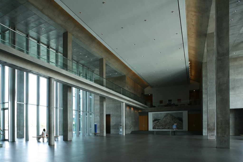 Tadao Ando Modern Art Museum Of Fort Worth Completed 2002