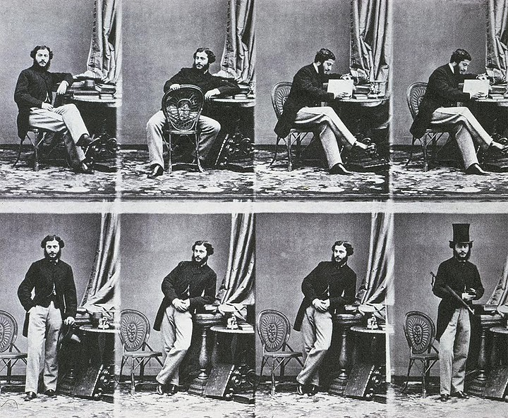 Uncut Andr Adolphe Eugne Disdri Untitled Portrait Of A Gentleman