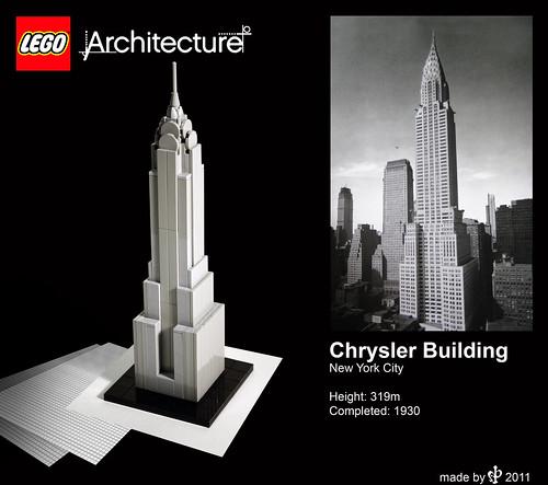 Lego Architecture Chrysler Building Instructions