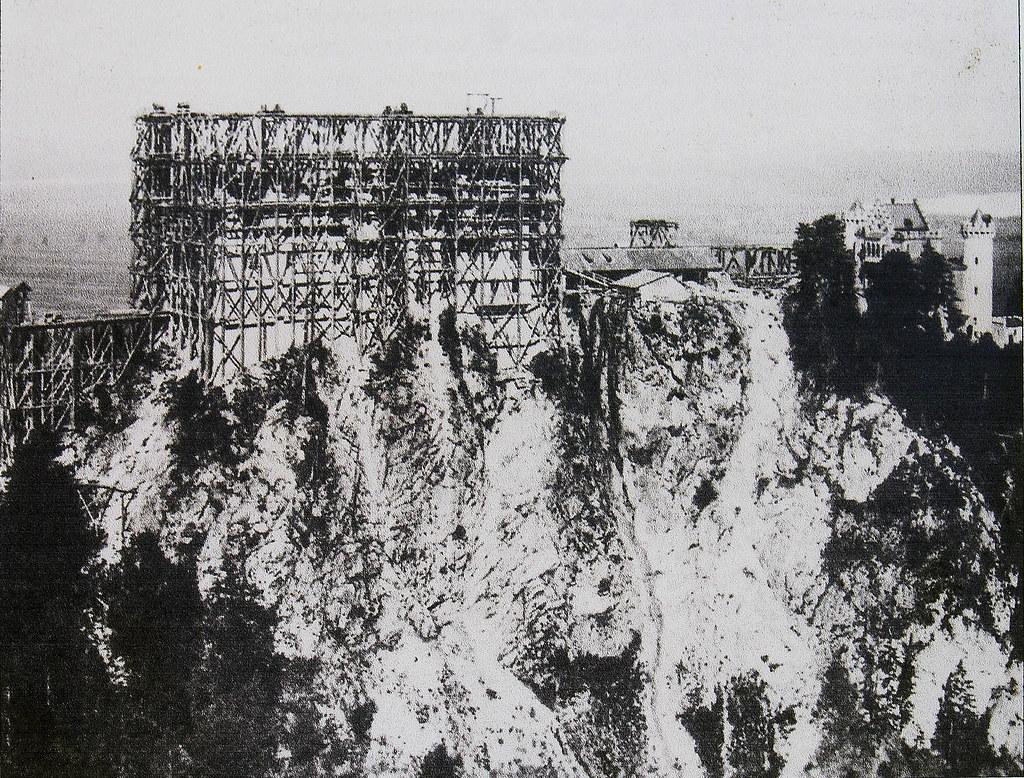 Hohenschwangau Schloss Im Bau 1872 Von Marienbr 252 Cke 1866