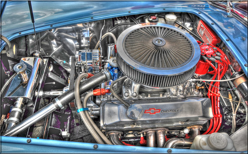 CHEROLET V8 IN A COBRA REPLICA | by Shaun's Photographic World.