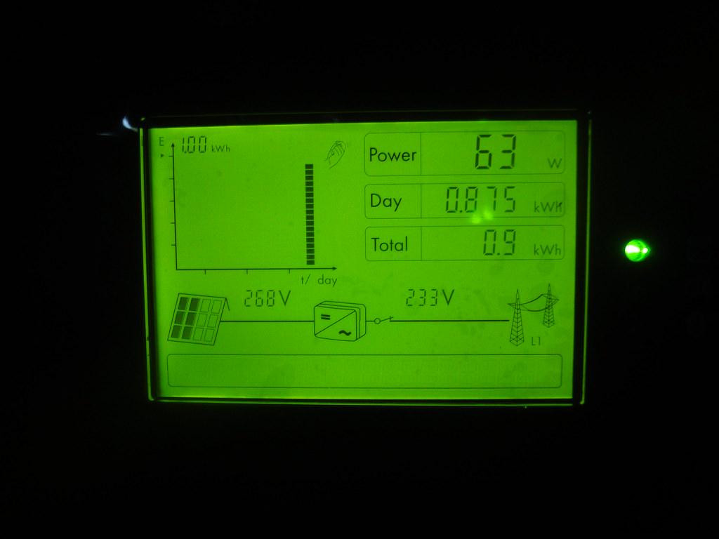 dsc06966 display sma sunny boy 5000tl 20 w flickr. Black Bedroom Furniture Sets. Home Design Ideas