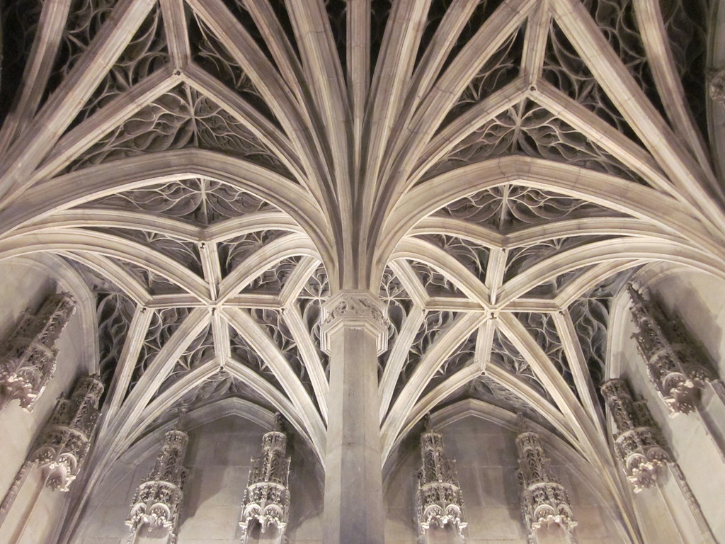 Ribbed Vault Ceiling Of The Chapel 2 Mus 233 E Cluny Flickr
