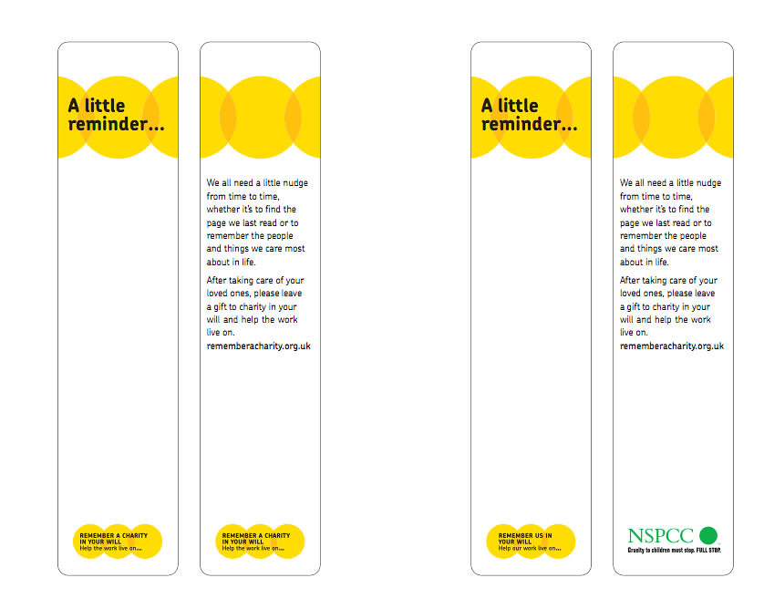 Remember A Charity Campaign Bookmark Bookmark Featuring