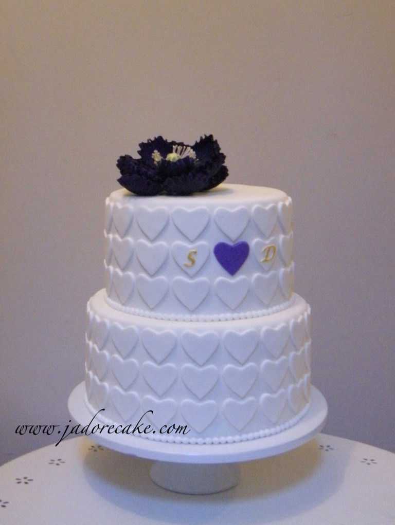 candy bar bridal shower cake by jadore cakes