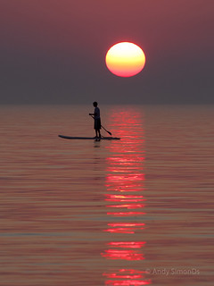 Sunset Paddleboard at Pier Cove | by Simonds