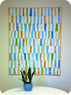 The Wonky Quilt | by Cara {Me? A Mom?}