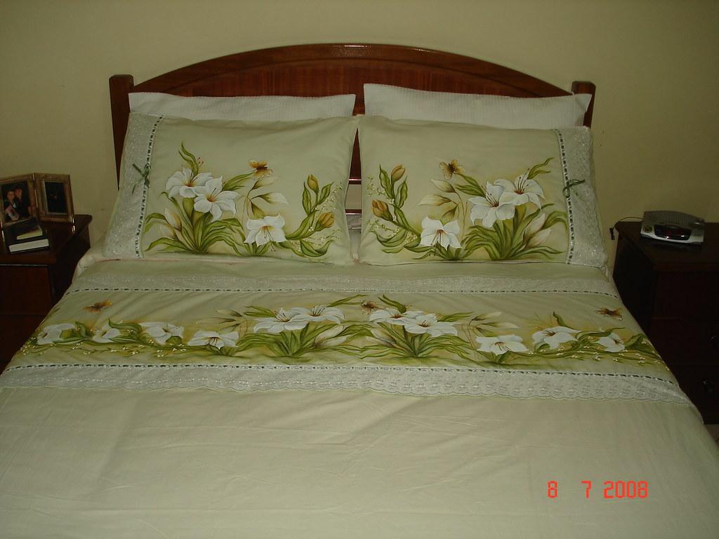 jogo de cama lirios lucia bittencourt galhardy flickr