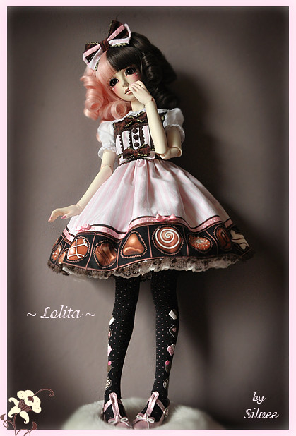 Angelic Pretty Lolita Dress Melty Chocolate So My