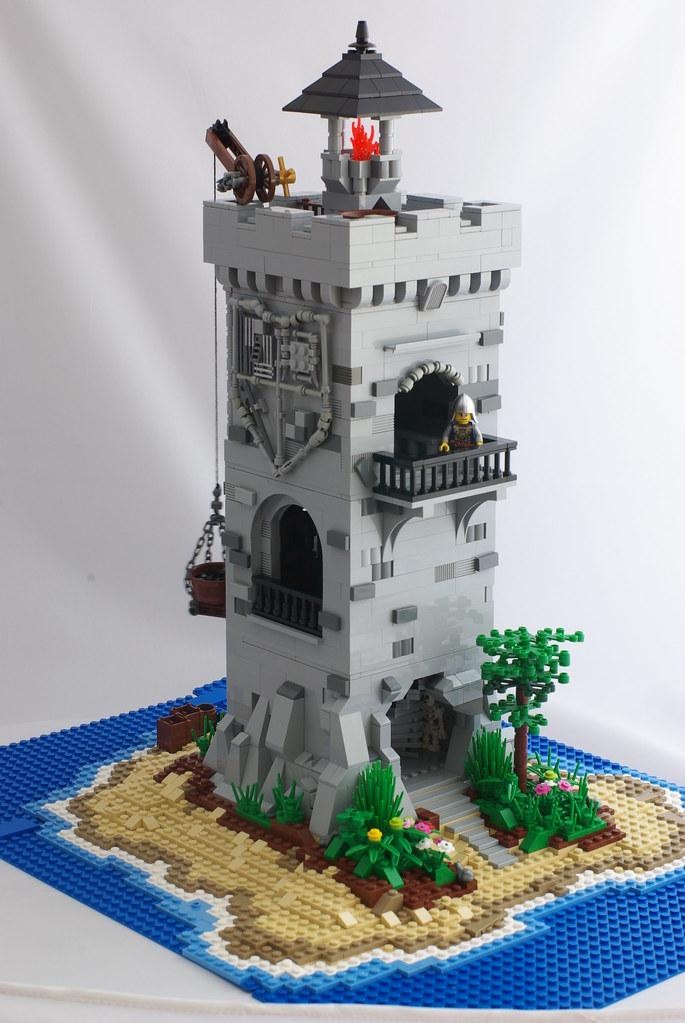 Medieval lighthouse pablo gonzalez flickr - Ile pirate lego ...